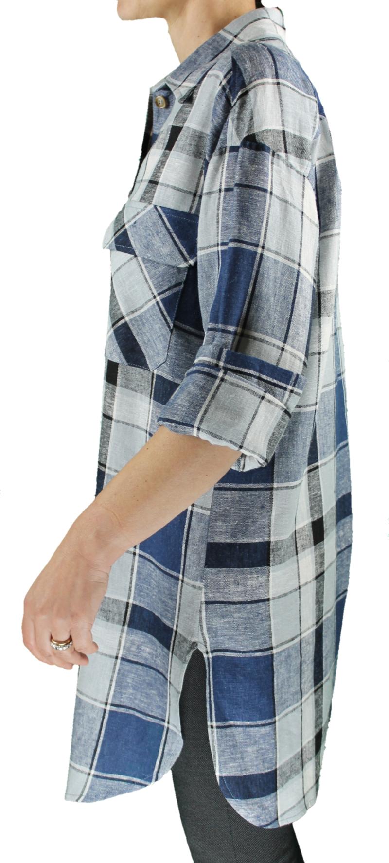 camicione-misto-lino-art-609-blu